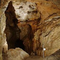 Binnen in de Pálvölgyi-grot