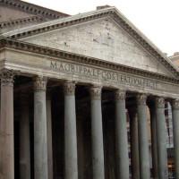 Fronton van het Pantheon