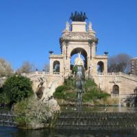 Bouwwerk in het Parc de la Ciutadella
