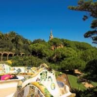 Uitzicht van uit parc Güell