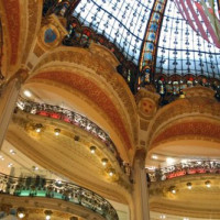 Binnen in de Galeries Lafayette