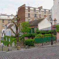 Straat in Montmartre
