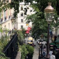 Trappen op Montmartre