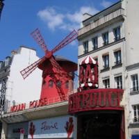 Aan de Moulin Rouge