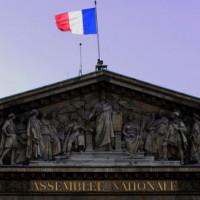 Fronton van het Palais Bourbon