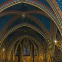Interieur van de Sainte-Chapelle