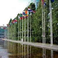 Vlaggen in het Parque das Nações