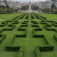 Beeld van het Parque Eduardo VII