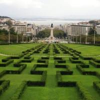 Heggetjes in het Parque Eduardo VII