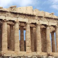 Voorkant van het Parthenon