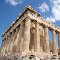 Ruïne van het Parthenon