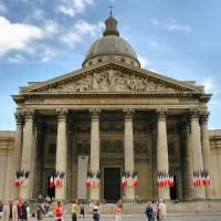 Voorgevel van het Panthéon