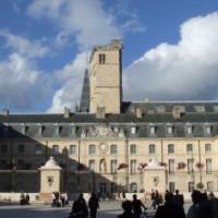 Vooraanzicht van Palais des Ducs