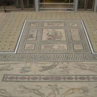 Mozaïekvloer in het Pergamonmuseum