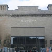Voorgevel van het Pergamonmuseum