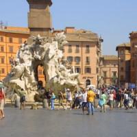 Beeld van de Piazza Navona