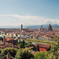 Uitzicht op Firenze