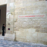 Naambord van het Picassomuseum