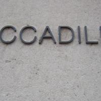 Naambord van Piccadilly