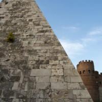 Deel van de Piramide van Cestius