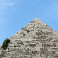 Top van de Piramide van Cestius