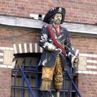 Beeld van een piraat