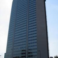 Zijkant van het Pirelli-gebouw