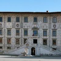 Voorkant van de Universiteit van Pisa