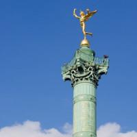 Zuil op de Place de la Bastille