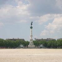 Zicht op de Place de Quinconces