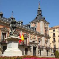 Beeld op het Plaza de la Villa