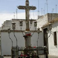 Zicht op de Plaza de los Capuchinos