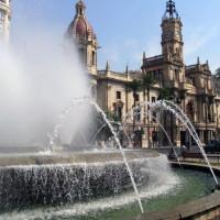 Fontein van de Plaza del Ayuntamiento