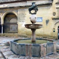 Fontein op de Plaza del Potro