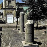 Ruïnes op de Plaza Jerónimo Páez
