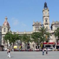 Gebouw aan de Plaza del Ayuntamiento