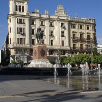 Fonteinen op de Plaza de las Tendillas