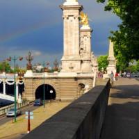 Kunstwerken op de Pont Alexandre III