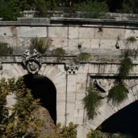 Detail van de Ponte Rotto