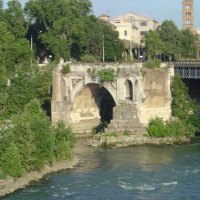 Stuk van de Ponte Rotto