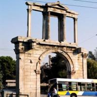 Poort van Hadrianus in Athene