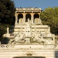 Zicht op het Piazza del Popolo