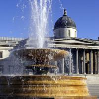 Fontein voor de National Gallery