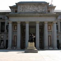 Voor aan het Museo del Prado