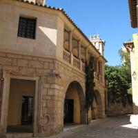 Steegje in Pueblo Español