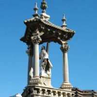 Detail van de Puente del Real