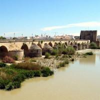 Zicht op de Puente Romano