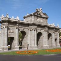 Perk voor de Puerta de Alcalá