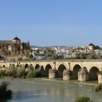 Totaalbeeld van de Puente Romano