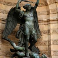 Sint Michael in Parijs